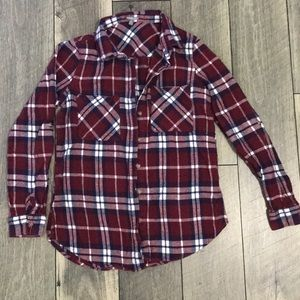 Charlotte Russe button down top